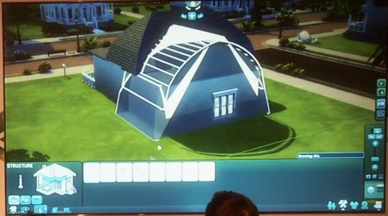 Видео как сделать крышу в симс 4